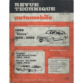 REVUE TECHNIQUE AUTOMOBILE FORD SIERRA -...