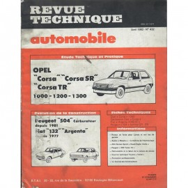 REVUE TECHNIQUE AUTOMOBILE OPEL CORSA -...