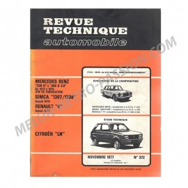 REVUE TECHNIQUE AUTOMOBILE RENAULT 4-SIMCA...