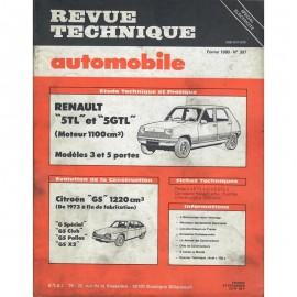 REVUE TECHNIQUE AUTOMOBILE RENAULT 5TL et...