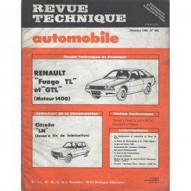 REVUE TECHNIQUE AUTOMOBILE RENAULT FUEDO TL...