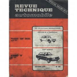 REVUE TECHNIQUE AUTOMOBILE RENAULT R18 et...