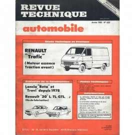 REVUE TECHNIQUE AUTOMOBILE RENAULT TRAFIC -...