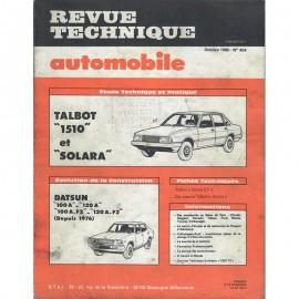 REVUE TECHNIQUE AUTOMOBILE TALBOT 1510 et...