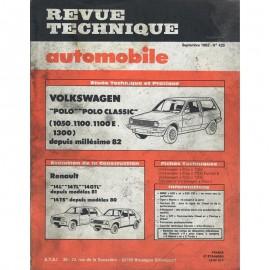 REVUE TECHNIQUE AUTOMOBILE VOLKSWAGEN POLO et...