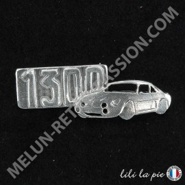 Broche Alpine A110 1300, Auto et Lettrage 1300