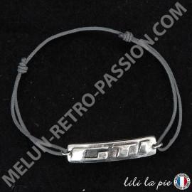 Bracelet Peugeot GTI, Lettrage GTI -...