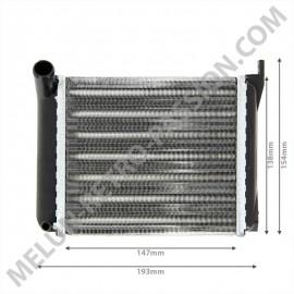 Heater radiator RENAULT R4