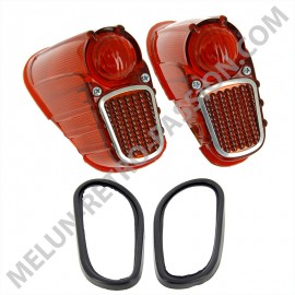 TAIL LIGHTS CABOCHONS RENAULT 4CV 2nd model,...