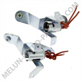 TAIL LIGHT SUPPORTS RENAULT 4CV 2nd MODEL,...