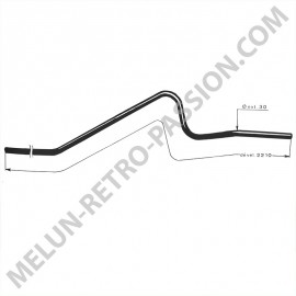 REAR TUBE RENAULT JUVA 4 R2100 and...