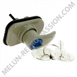RENAULT R4 TRUNK HANDLE WITH KEYS
