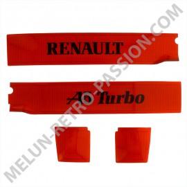 BANDEAU DE COFFRE DECORATIF RENAULT R5 Alpine...
