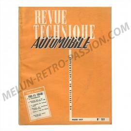revue technique automobile ford v8 1954-56 et...
