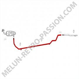 INTERMEDIATE EXHAUST PIPE RENAULT R5