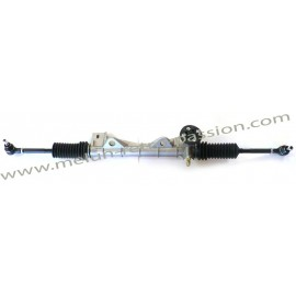 STEERING GEAR WITH TIE RODS AND PROTECT SHEATH