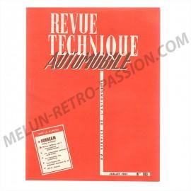 REVUE TECHNIQUE AUTOMOBILE SUNBEAM ALPINE ET...