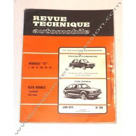 TECHNICAL REVIEW  ALFASUD  PEUGEOT 504