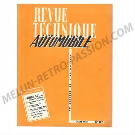 revue technique automobile renault dauphine...