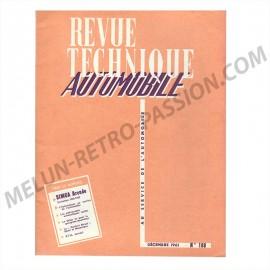 REVUE TECHNIQUE AUTOMOBILE SIMCA ARONDE -...