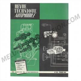 REVUE TECHNIQUE AUTOMOBILE RENAULT R3 - R4 ET...