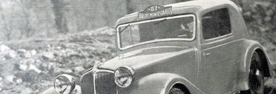 Renault d'avant Guerre